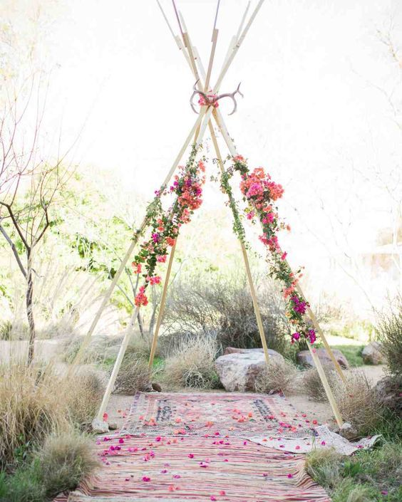simple-boho-wedding-arch-backdrop