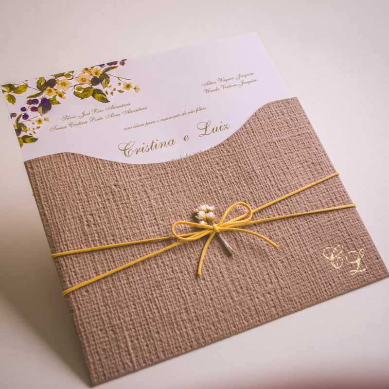 convite-rustico-modelo-luiz-papel-e-estilo-1 As tendências de Convite de Casamento para 2017