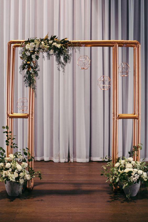 c804c592bb1336e0d81bcd03d3d79a16 A decoração do seu casamento com estilo industrial!