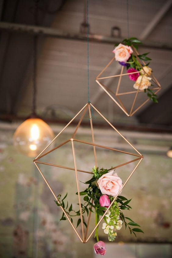 cf07461bd27146f02d5a7b2b1422536d A decoração do seu casamento com estilo industrial!