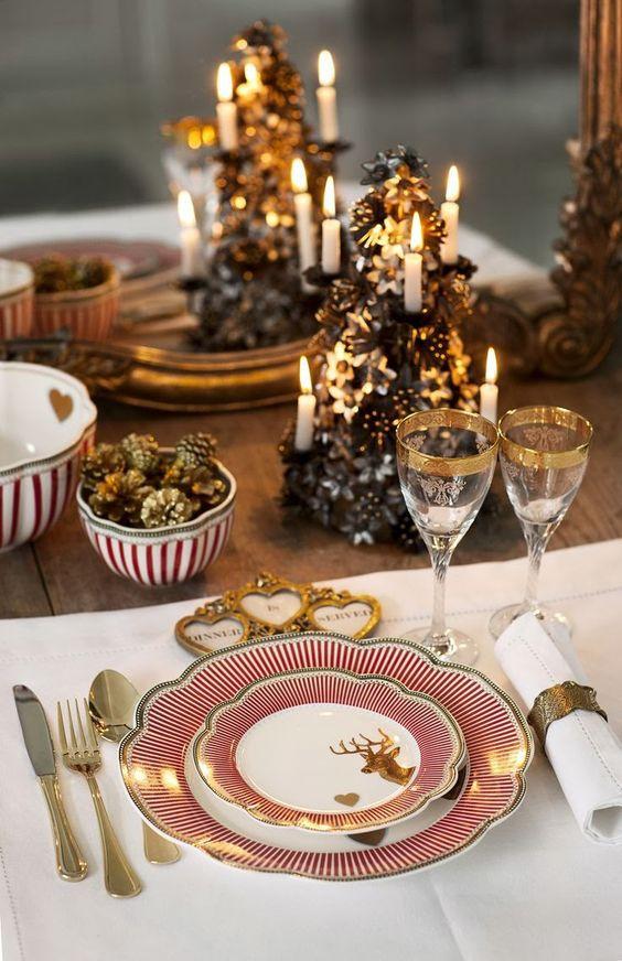 296a04fc2c1a203d8a23b65a1b2bee6b Decoração para mesa de Natal!