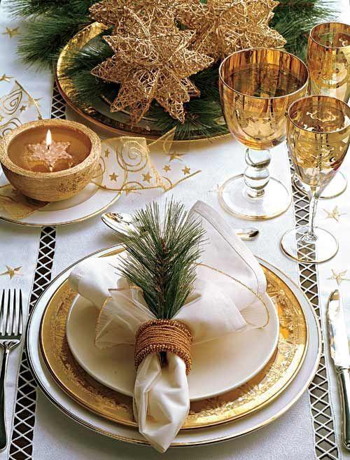 2f866d872f4b0842247037030f62557c Decoração para mesa de Natal!