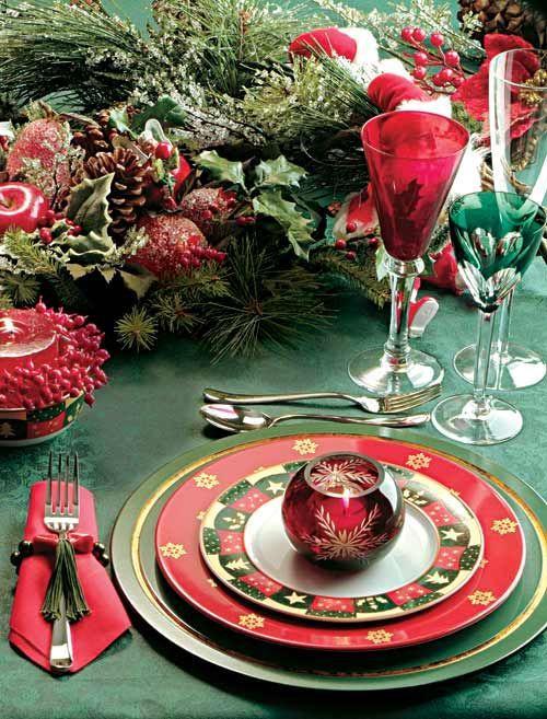 e9d064fe6931fc893aea4becb3b4578a Decoração para mesa de Natal!