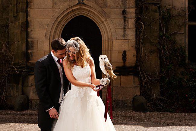 Fotografia-de-Caroline-White Animais no seu casamento!