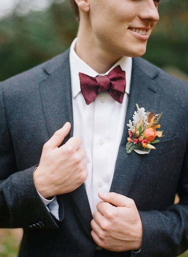 Melissa-Schollaert-Photography Gravata para os noivos!