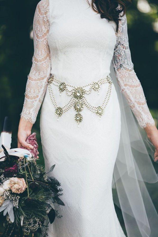 Boho-Bridal-Belt 10 lindas faixas e cintos para noivas