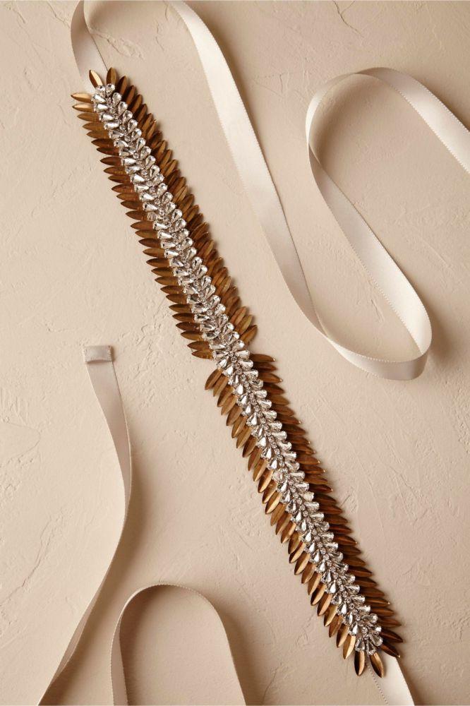 Copper-Bridal-Sash-666x1000 10 lindas faixas e cintos para noivas