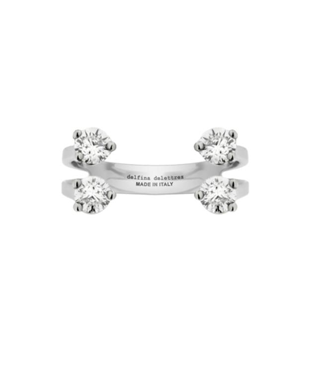 Delfina-Delettrez-Engagement-Ring-630x755 5 ANÉIS DE NOIVADO DELICADOS