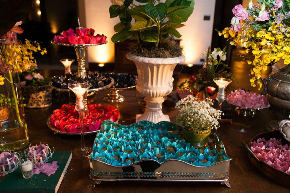 decoração mesa docinhos