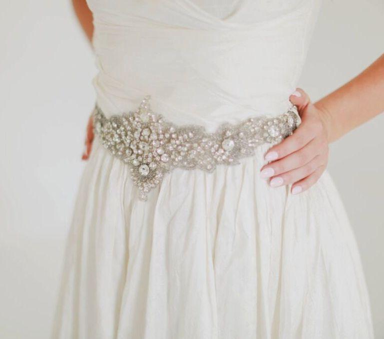 Vintage-Bridal-Sash-768x677 10 lindas faixas e cintos para noivas