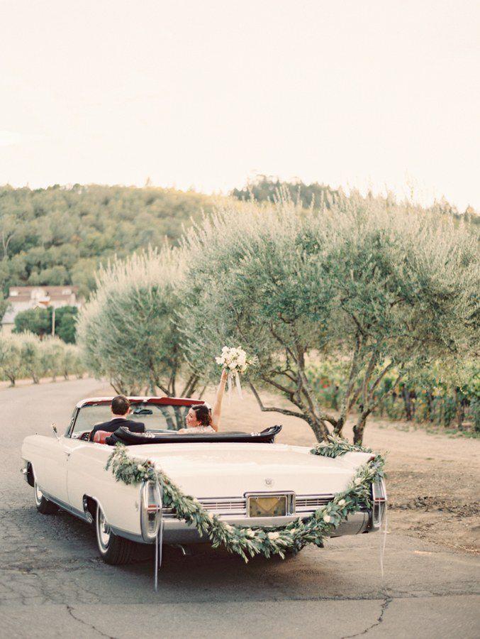 getaway-car-decoration-ideas-2 PERSONALIZE O CARRO DO SEU CASAMENTO!