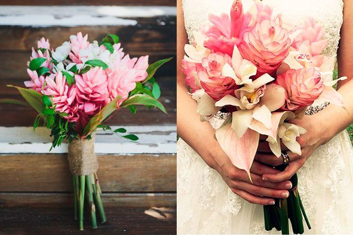 10-flores-exoticas-e-lindas_flor-de-gengibre_1 10 flores exóticas e lindas na decoração do casamento