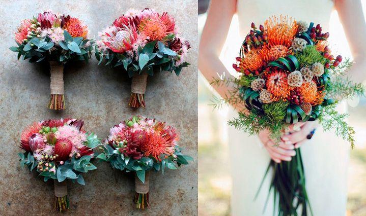 10-flores-exoticas-e-lindas_leucospermum_1 10 flores exóticas e lindas na decoração do casamento