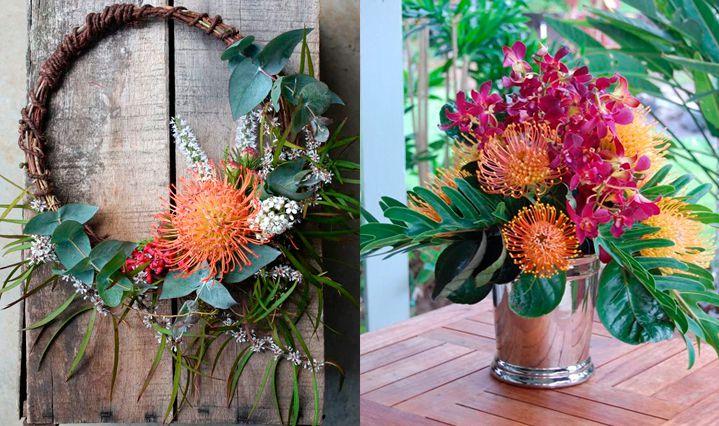 10-flores-exoticas-e-lindas_leucospermum_2 10 flores exóticas e lindas na decoração do casamento