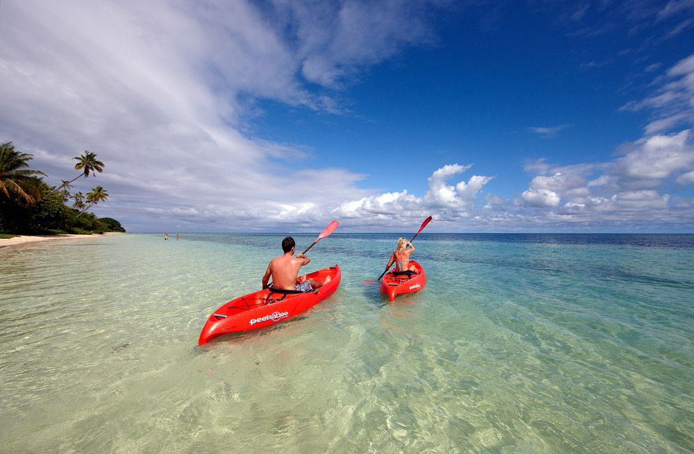 fiji-honeymoon-adventure-kayaking Lua de mel incrível em Fiji | Roteiros de Lua de Mel