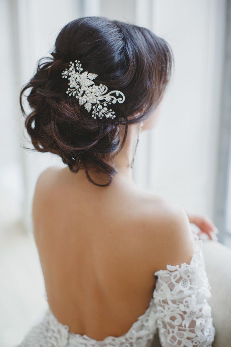 acessorios-para-cabelos16 Cabelos da noiva: acessório de cabeça