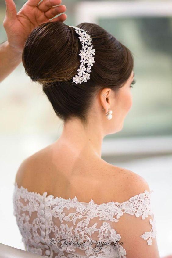 acessorios-para-cabelos22 Cabelos da noiva: acessório de cabeça