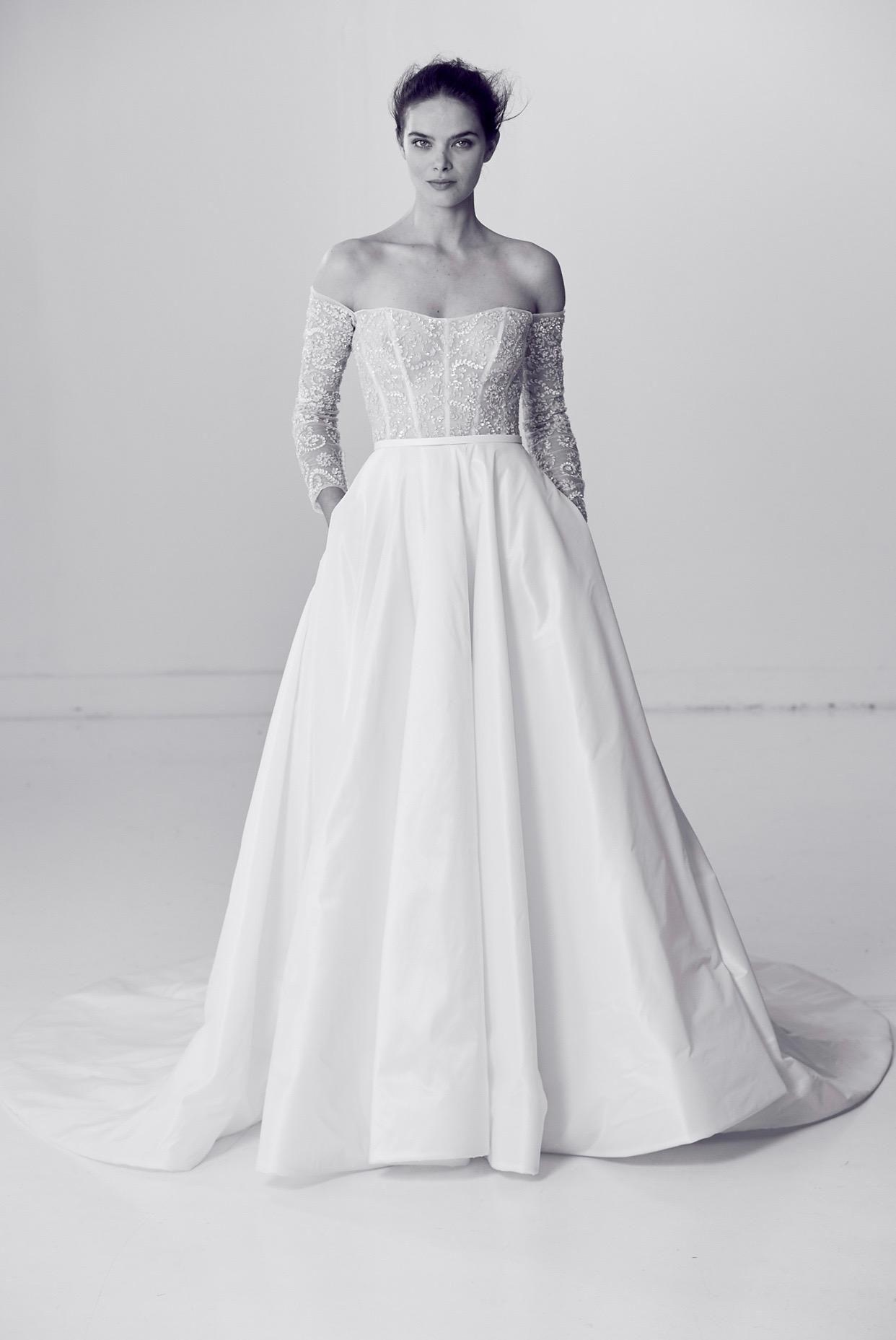 rivini-alyne-spring-2018-bridal-corset-gown Tendências de vestidos de noiva para 2018
