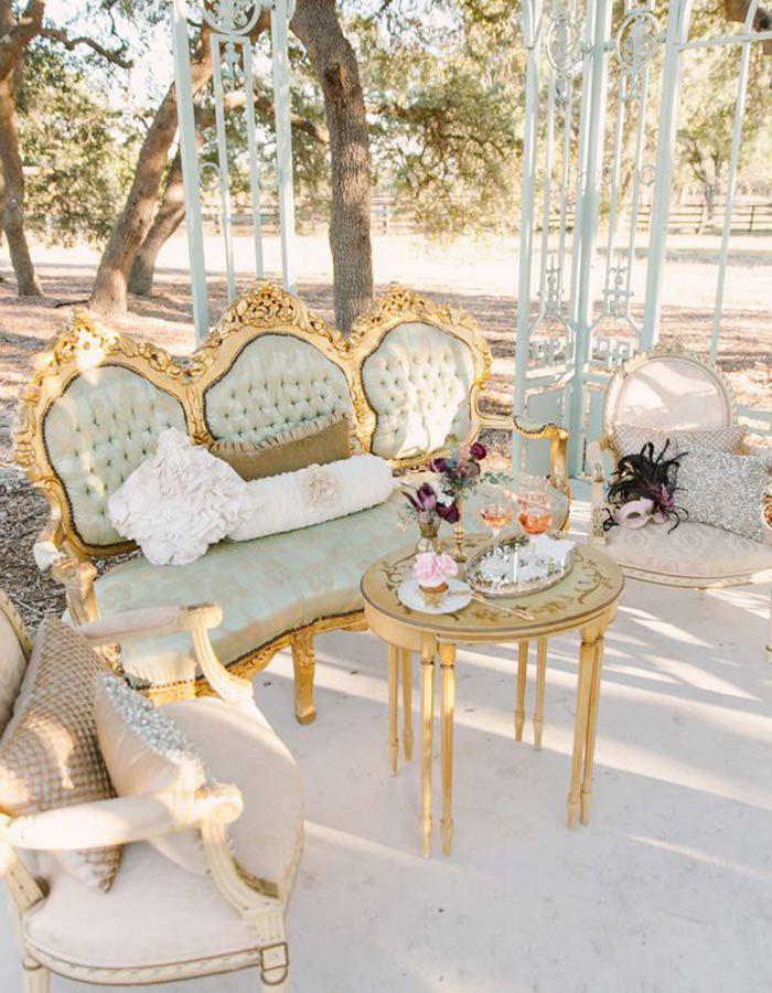 lounge01b Lounge na festa do casamento | Trends