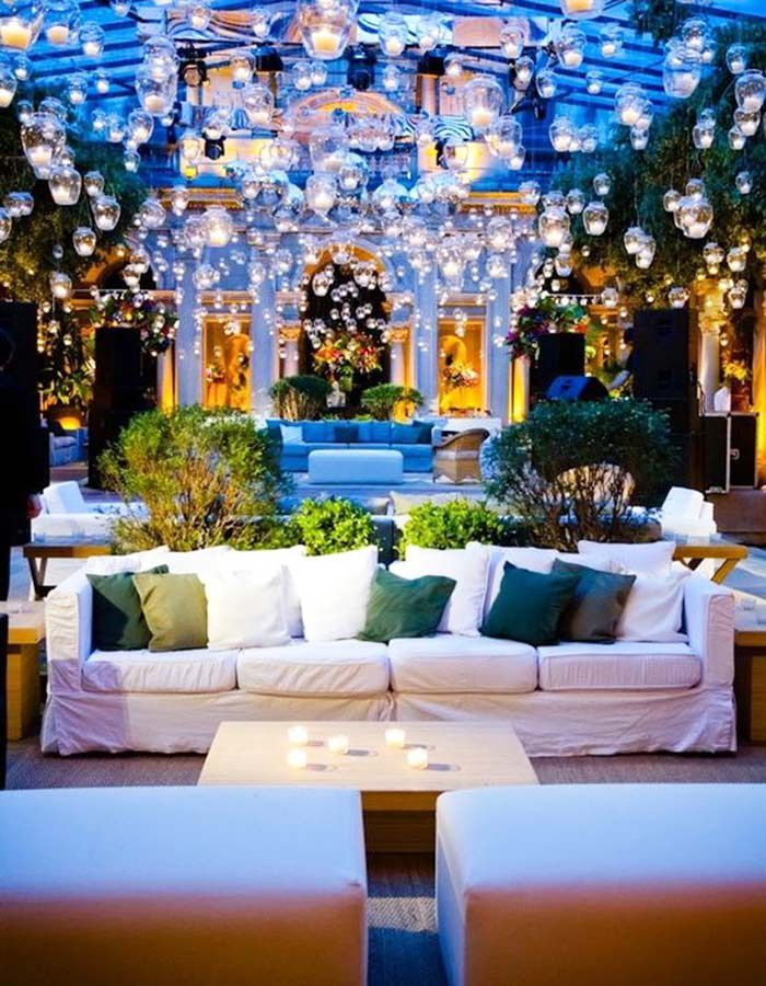 lounge03 Lounge na festa do casamento | Trends
