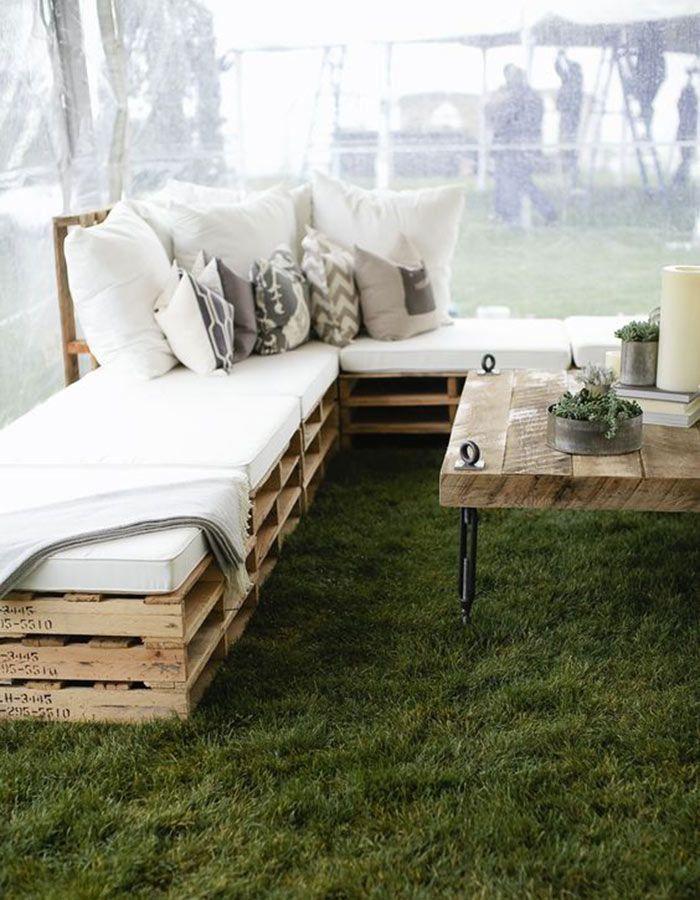 lounge04 Lounge na festa do casamento | Trends