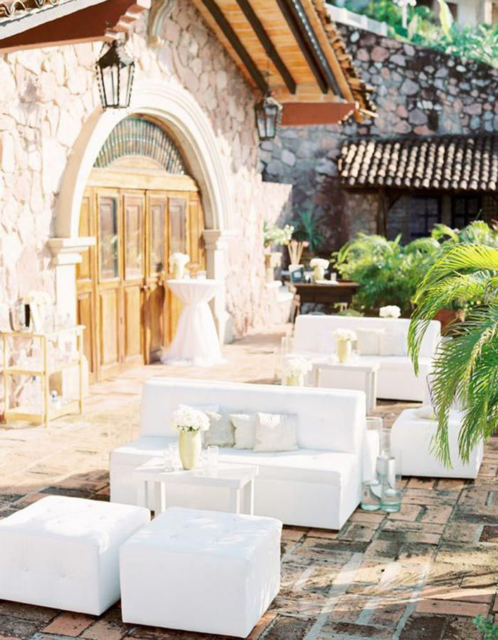 lounge05 Lounge na festa do casamento | Trends