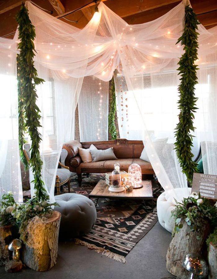 lounge06 Lounge na festa do casamento | Trends