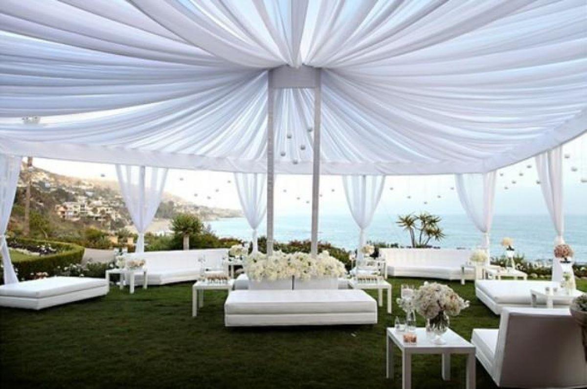 lounge07a Lounge na festa do casamento | Trends