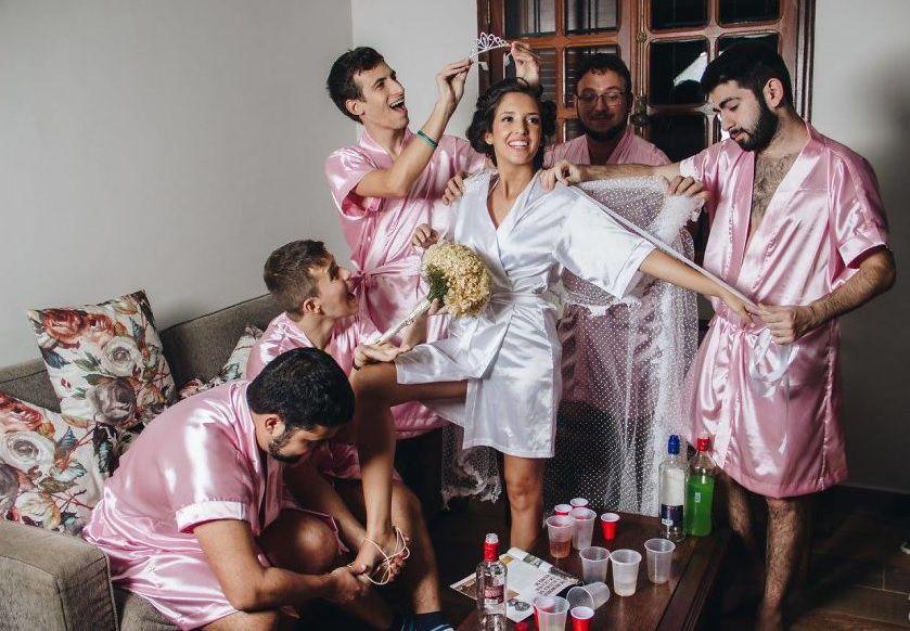 Rebecca-Abrantes-and-bridesmaids01 Um Dia da Noiva bem diferente! - Rebeca | Dia da Noiva
