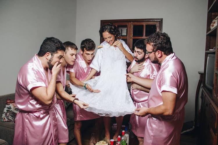 Rebecca-Abrantes-and-bridesmaids03 Um Dia da Noiva bem diferente! - Rebeca | Dia da Noiva