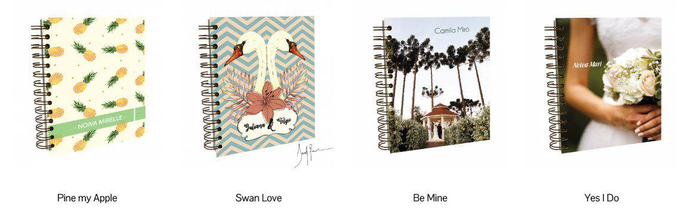 pinbooks Planner da noiva da Lemon Pin - organização e beleza | Novidade