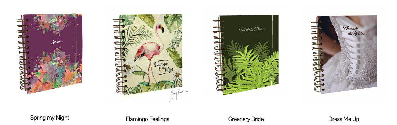 pinbooks3 Planner da noiva da Lemon Pin - organização e beleza | Novidade