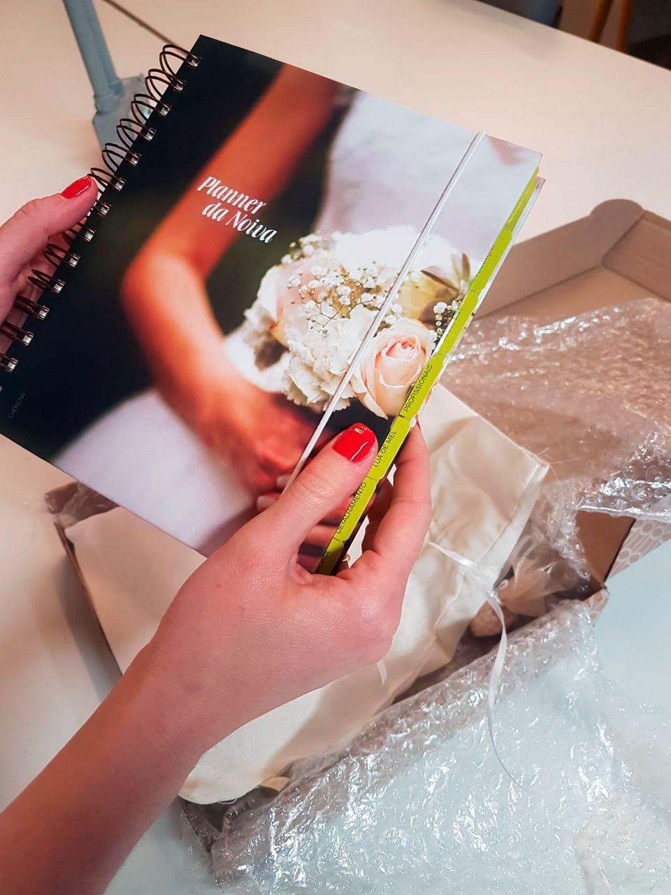 unpack2 Planner da noiva da Lemon Pin - organização e beleza | Novidade