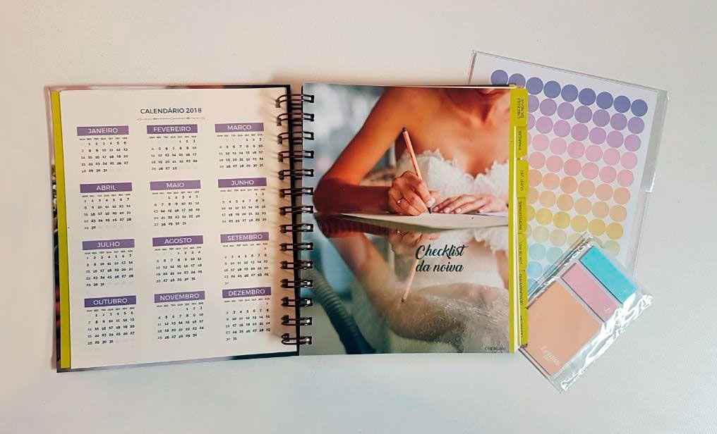 unpack4 Planner da noiva da Lemon Pin - organização e beleza | Novidade