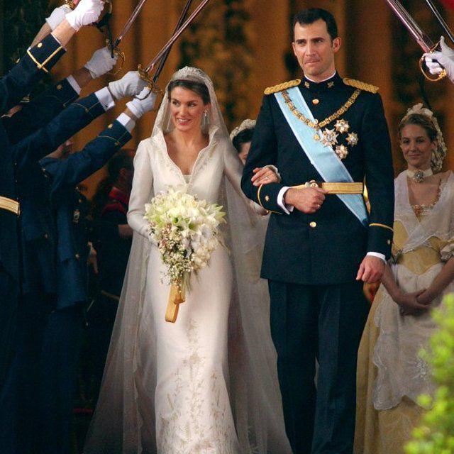 princesa-Letiza-espanha Vestidos de princesas | Inspiração