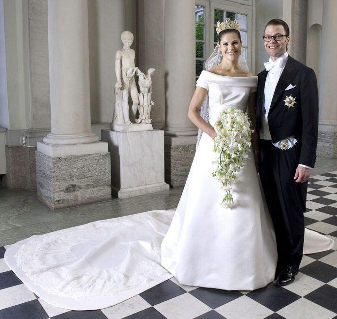 princesa-Victoria-suecia Vestidos de princesas | Inspiração