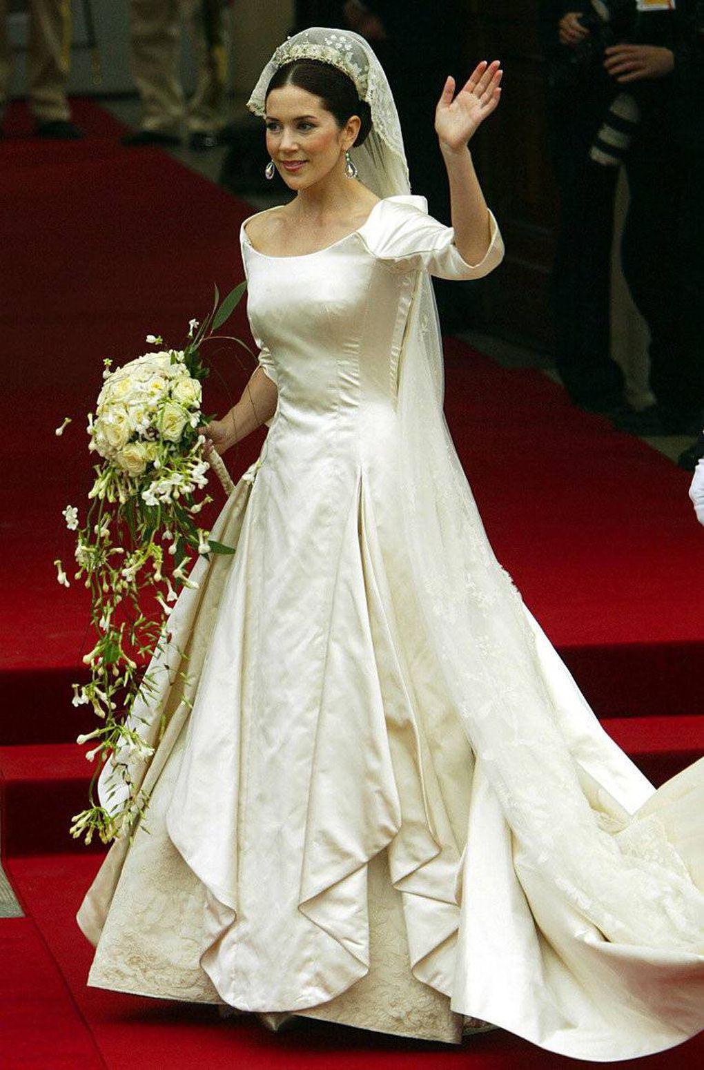 princesa-mary-dinamarca Vestidos de princesas | Inspiração