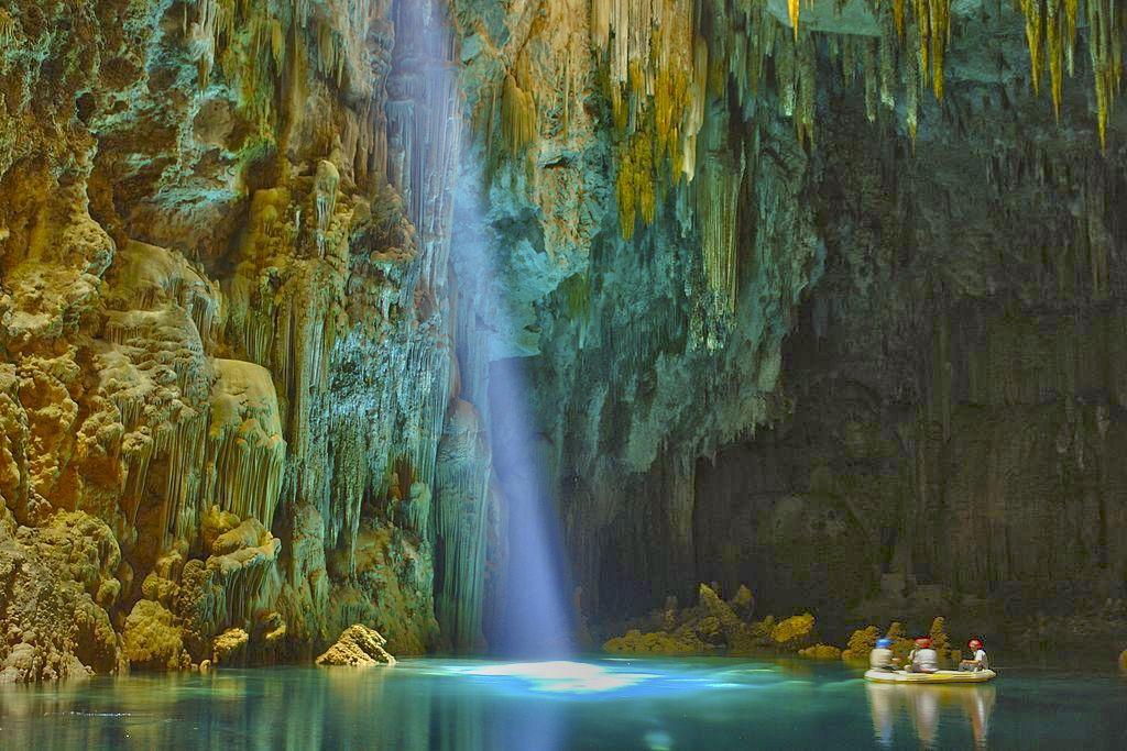 aguas cristalinas em Bonito