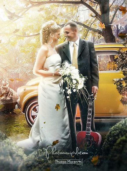 casal-depois Fotos de casamento dignas de um conto de fada