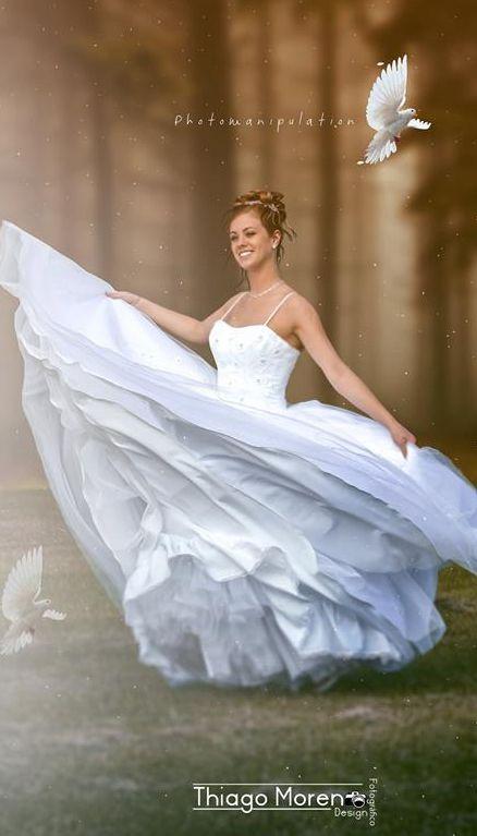 noiva_depois Fotos de casamento dignas de um conto de fada