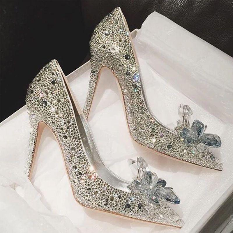 sapato4 Sapato de noiva com glitter, strass, metalizado ou pérola?