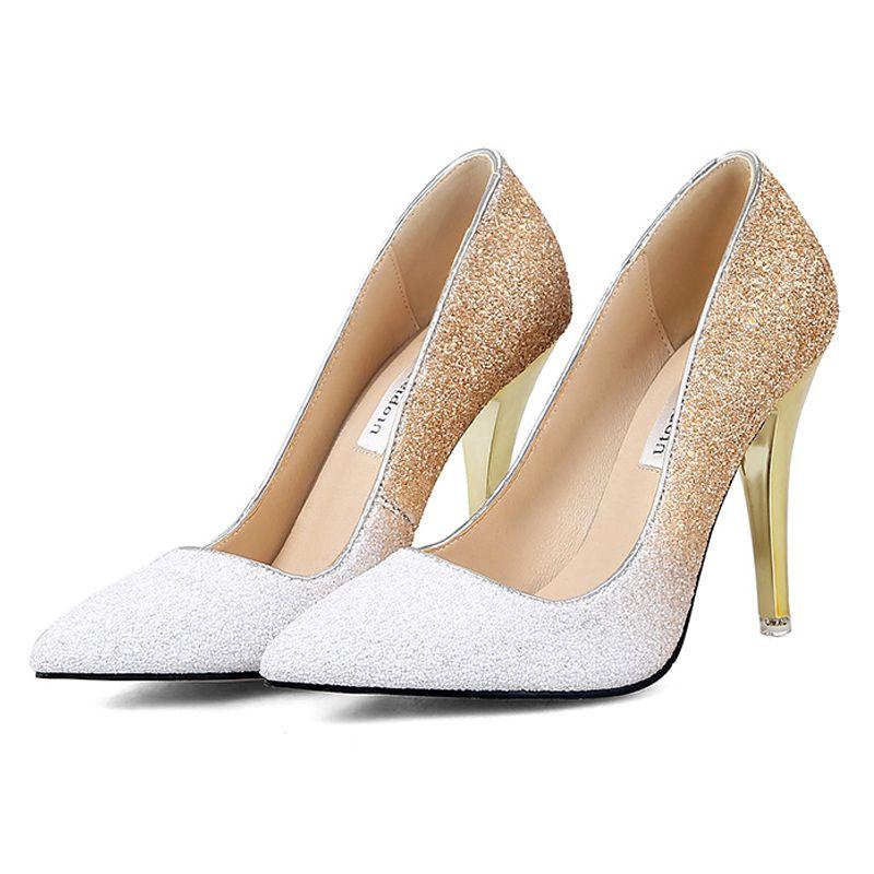 sapato7 Sapato de noiva com glitter, strass, metalizado ou pérola?