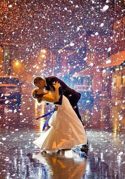 pose de casamento na chuva