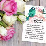 Cartão de agradecimento pela presença para imprimir: um mimo para os convidados do seu casamento
