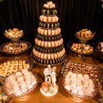 Um lindo casamento em tons dourado, preto e branco – Natália e Adrinei