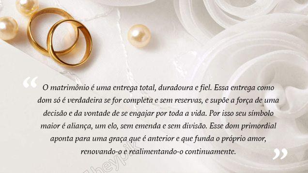 mensagem para a entrada da aliança de casamento 3