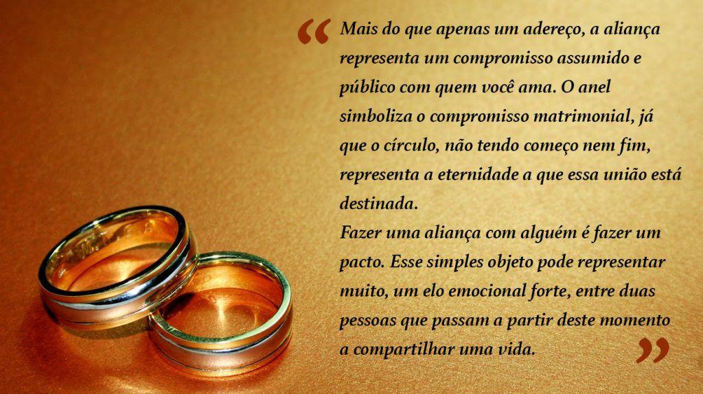 mensagem para a entrada da aliança de casamento 4