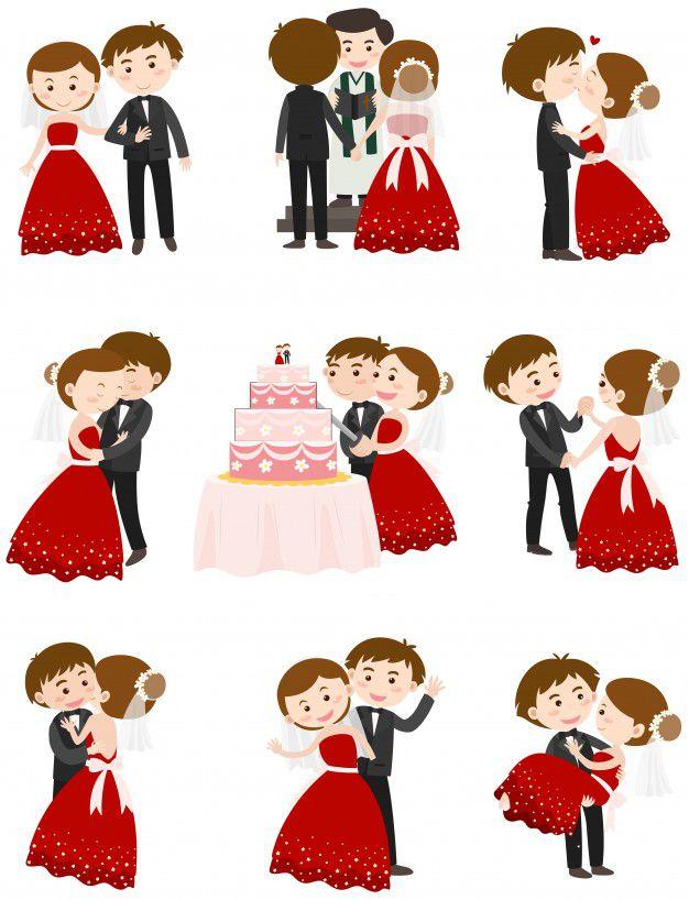 desenhos de casamento para imprimir noivinhos