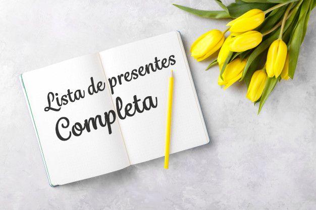 materia Lista de chá de casamento completa: nós preparamos para você!