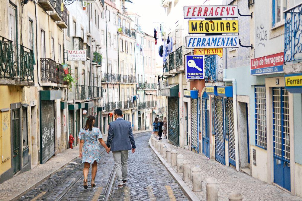 Lisboa_Mouraria Lua de mel em Portugal - registros para guardar no coração